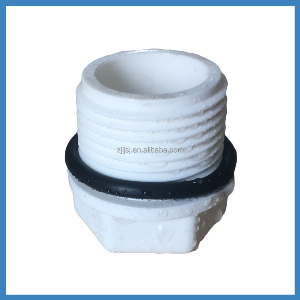 PVC plastic Pipe Fittings Male plug