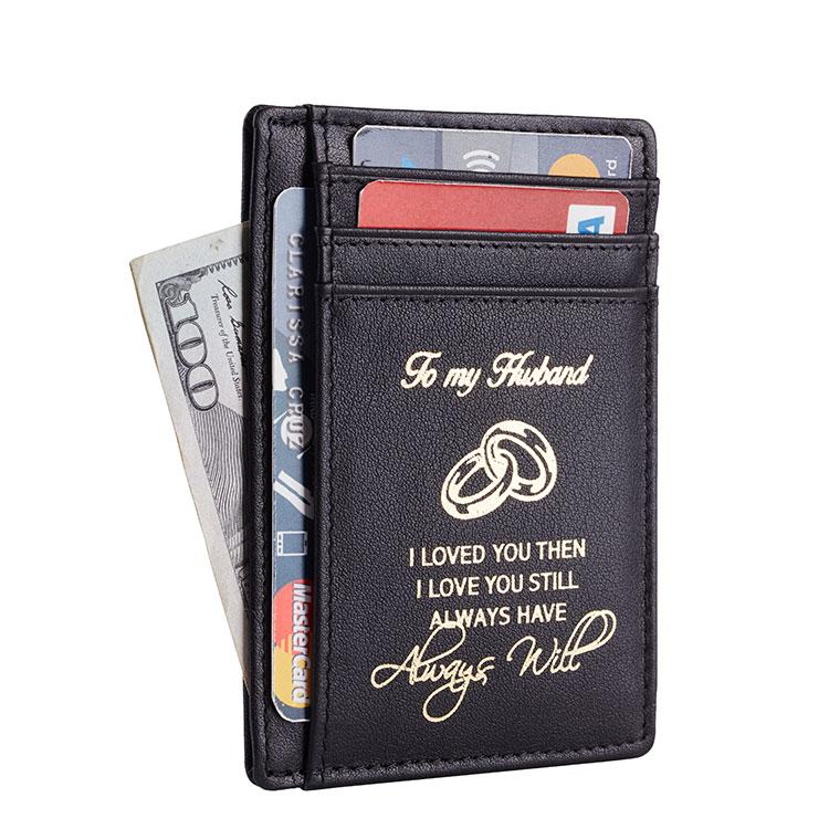 color/é : Marron HhGold Portefeuilles Vintage en Cuir v/éritable pour Hommes avec Porte-Cartes de cr/édit en Dollars am/éricains