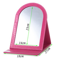 table cosmetic mirror folded hand mirror cheap