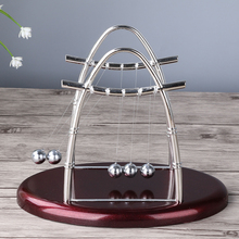 Medium size vaulted Newton's cradle perpetual ball office <strong>gift</strong>