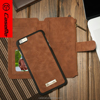 CaseMe TPU Leather Mobile Case for iPhone 6, for iPhone 6 Case Leather Wallet Cover