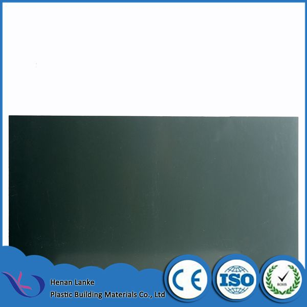 PVC black strong hard plastic sheet