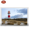 Wooden  Canvas Painting Lighthouse Design For Home  Wall Decoration