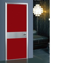 Durable Aluminum frame Bedroom Door For Bedroom With Nice Design