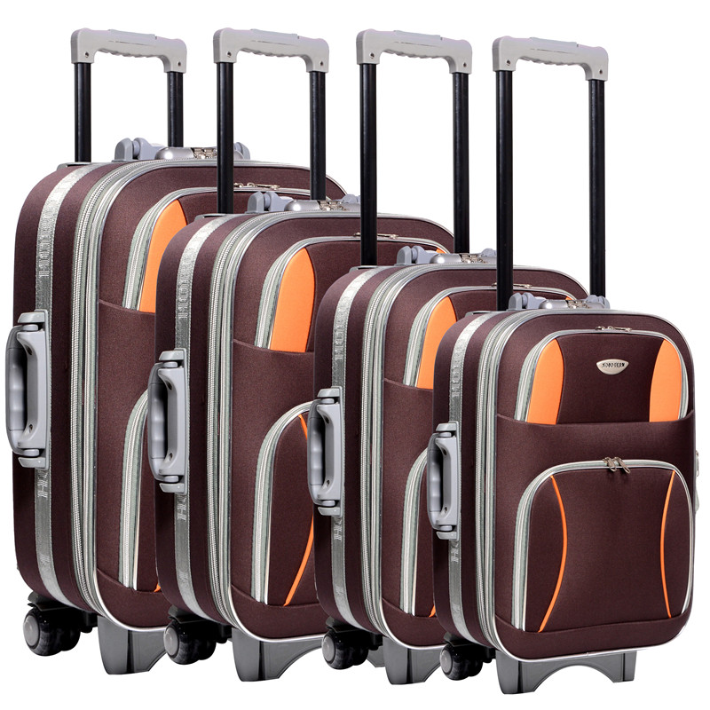 2016 polyester /eva trolley luggage on alibaba sale