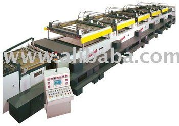 MULTICOLOR SCREEN PRINTING MACHINE