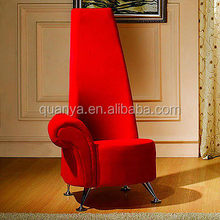 Luxury queen throne high back modern living room armchair