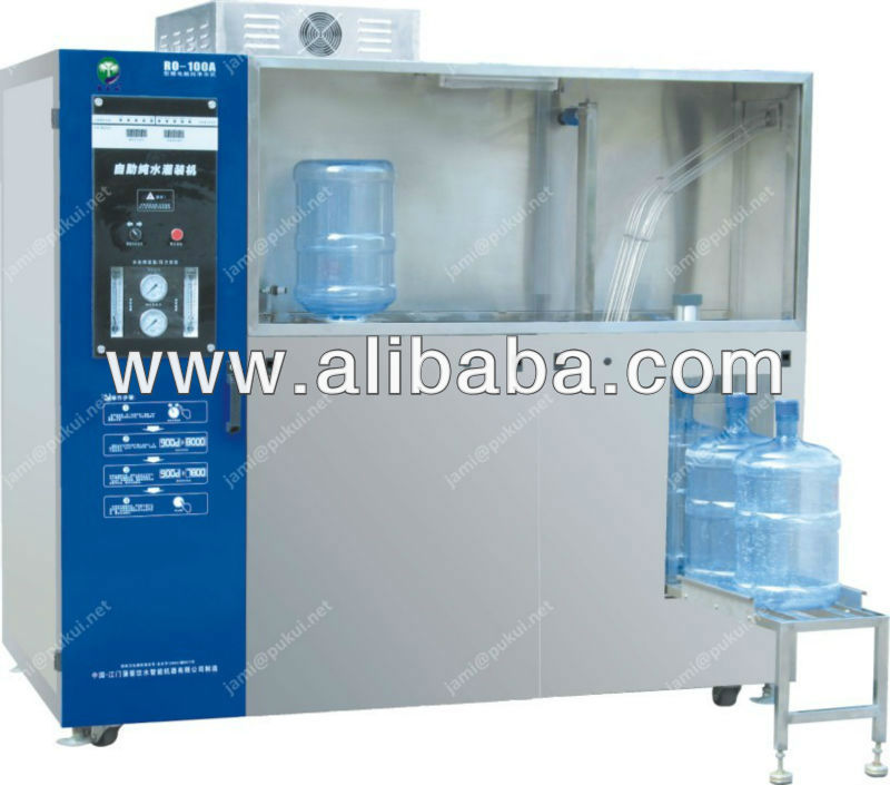 Automatic pure water filling machine 5 gallon bottle