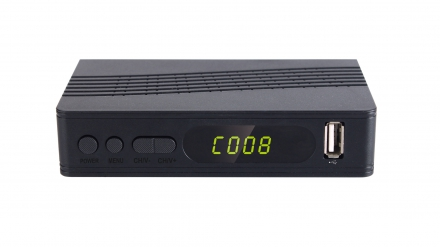 The top hot sale MSTAR 7805 chip Digital HD MINI ISDB-T receiver set top box plastic housing