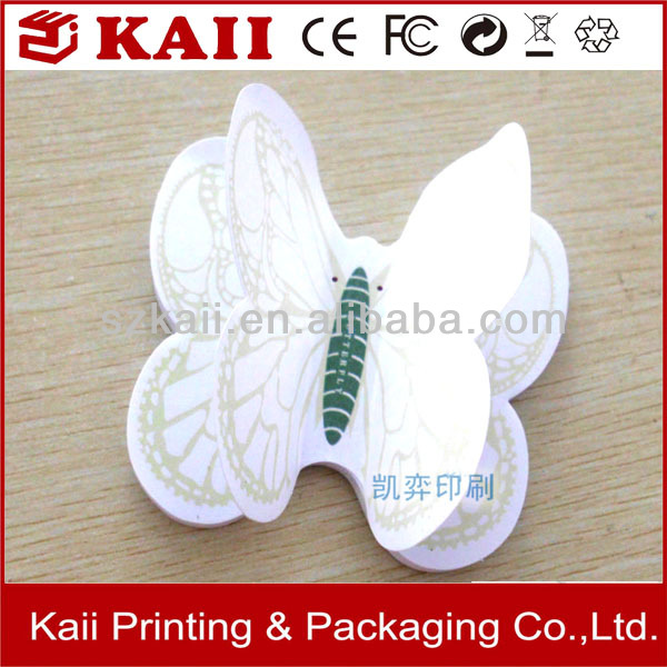 customized animal shaped sticky notes for decoration made in China fast delivery
