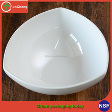 5-10inch Special hotel banquet melamine tableware triangle bowl