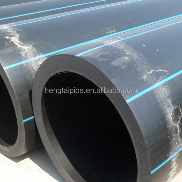 PE100 HDPE fire water pipe durable HDPE pressure pipe