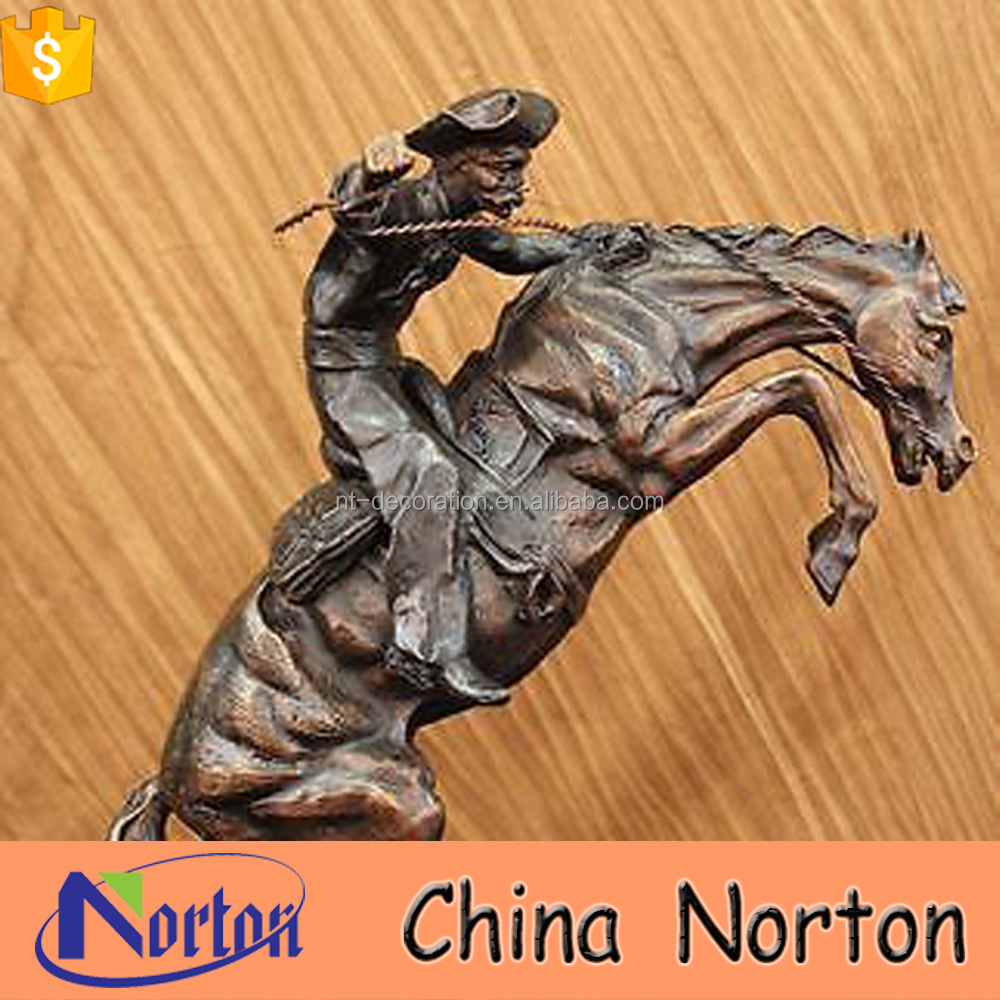 decorative metal pieces life size horse bronze statue large outdoor sculptures NTBH-S767X