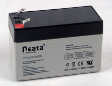 NEATA 12V 1.3AH Sealed Lead Acid Elevator Battery Rechargeable Maintenance Free AGM Batteries