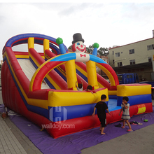 Happy island slide!!!!inflatable rock climbing slide,inflatable bouncer slide combo,inflatable sliding game
