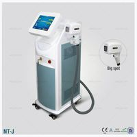 Sapphire filter Salon use / 808nm hair removal diode laser portable/ lazer epilation
