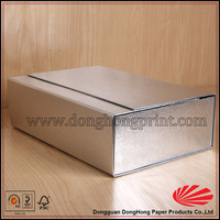Wholesale Flat Pack Printed Fancy Folding Dress Shirt Boxes with lids