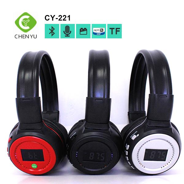 2016 wholesale foldable silent disco headphone with micophone