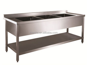 For Hotel Kitchen Used Commercial Stainless Steel Sinks/Outdoor Stainless  Steel Sink/Stainless Steel