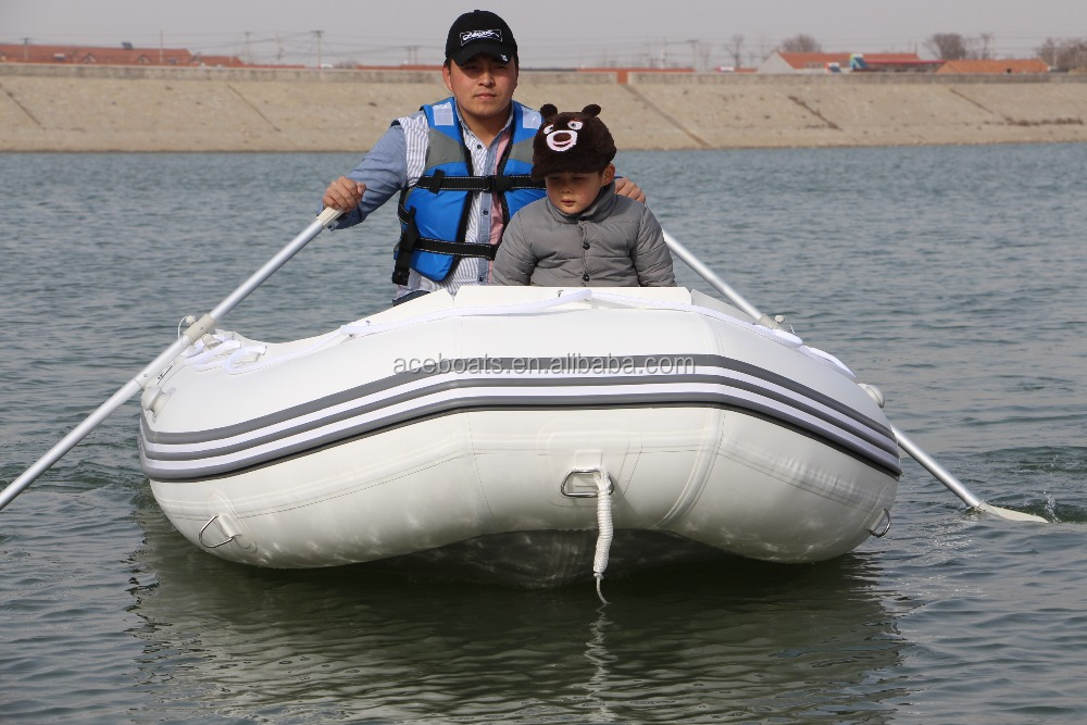 30-50HP 6m aluminium pontoon fishing outboard boat hovercraft top 10 sailing boats from Weihai Aceboats!