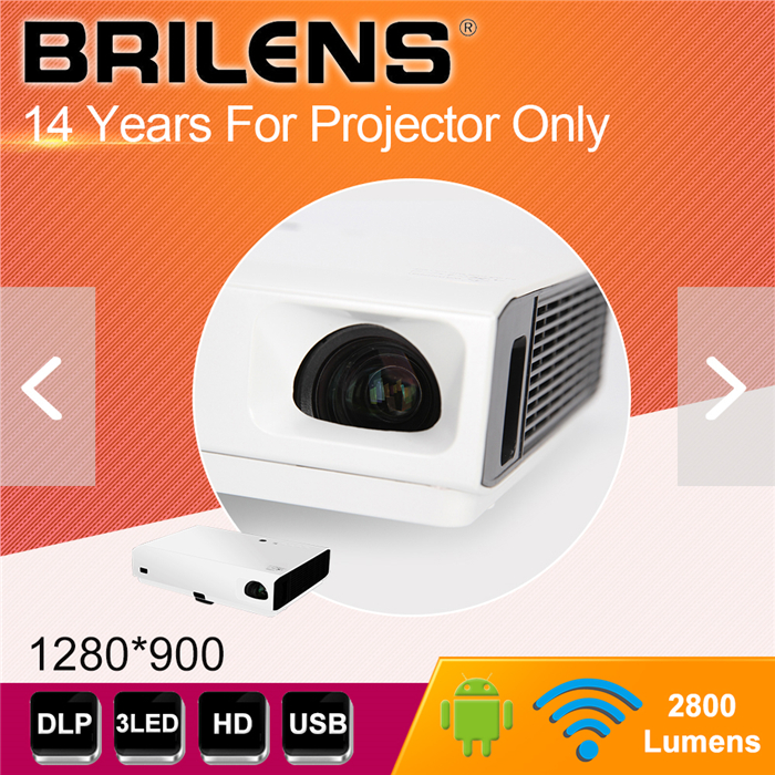 Laser projector Free shipping DLP Projector