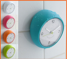decorative bathroom suction clock