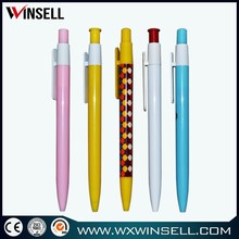 Latest stylish simple plastic ball pen