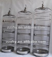 High Stainless Steel Decorative Canary Bird Cage Various Sizes Cages China Manufacturer Supplies
