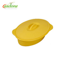 LEADONE brand fish/vegetables/dumplings/dim sum Silicone Steamer with lid for