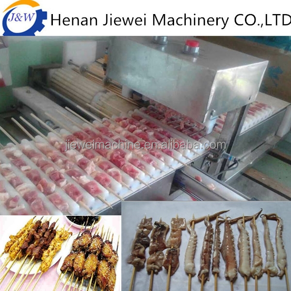 1600pcs/h meat stringing machine on sale