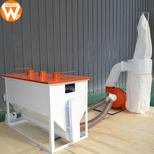 Henan Strongwin 500kg/h poultry animal feed production line machine to make animal food pellet