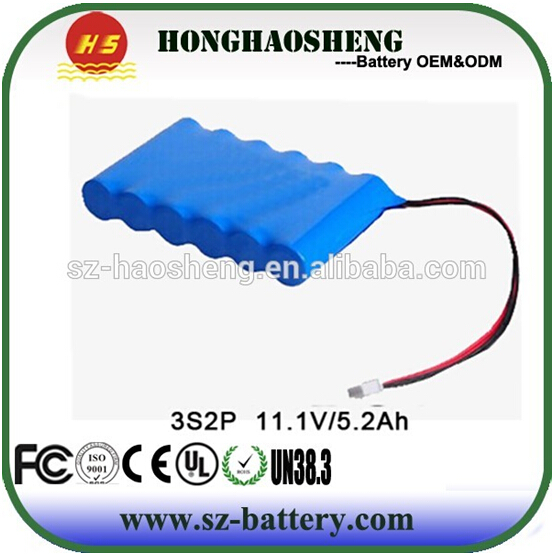 High quality with Samsung 29E 2900mah cell leica li-ion battery 14.8v 5800mah