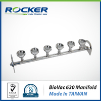 Rocker Scientific BioVac 630 Microbiology Laboratory Equipment Manifolds Vacuum Filtration for Water Treatment Equipment