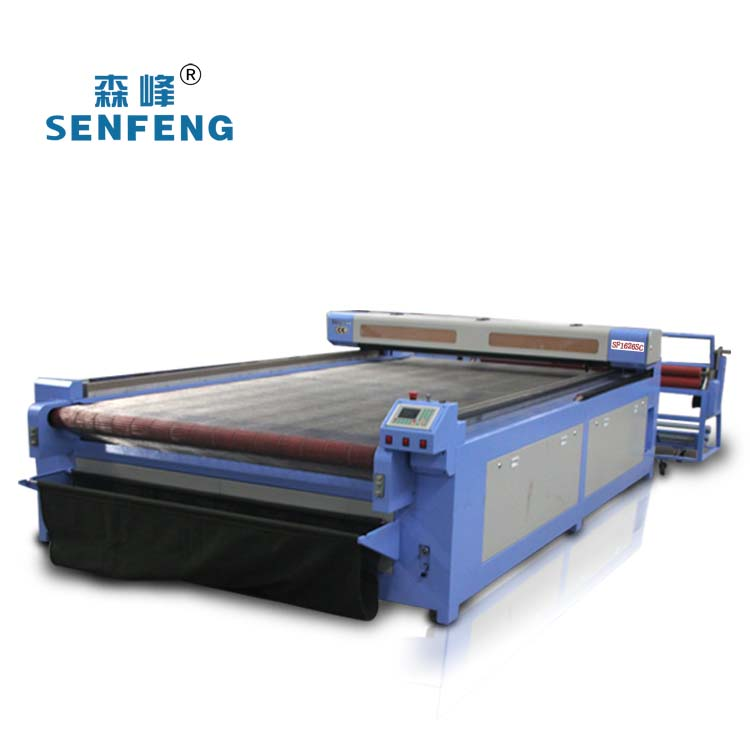 Automatic Laser Cutting Machine sarees cutting save manpower SF1626