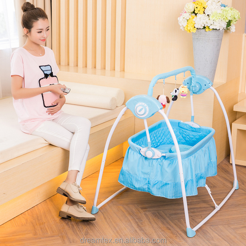 Hot sale kids bed baby swing bed furniture new born baby game bed