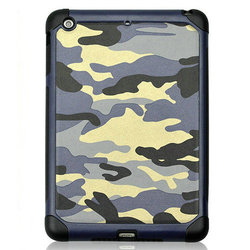 Camouflage case for IPAD AIR /IPAD 2 3 4 /Ipad mini with genuine leather case