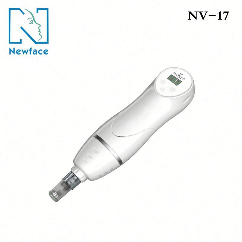 NV-17 portable microdermabrasion crystals wholesale skin tightening diamond dermabrasion mini beauty machine for home use