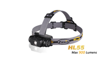 Fenix HL55 headlamp XM-L2 T6 LED 900 lumens flashlight for 116cm distance