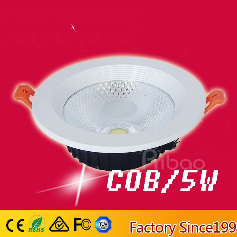 high quality cob led <strong>downlight</strong> 5w decorative led <strong>downlight</strong>