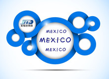 courier service express fast delivery from China to mexico-Mexico City