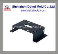 OEM High Precision Black Spraying Sheet Metal Stamping Part with Bending and Punching