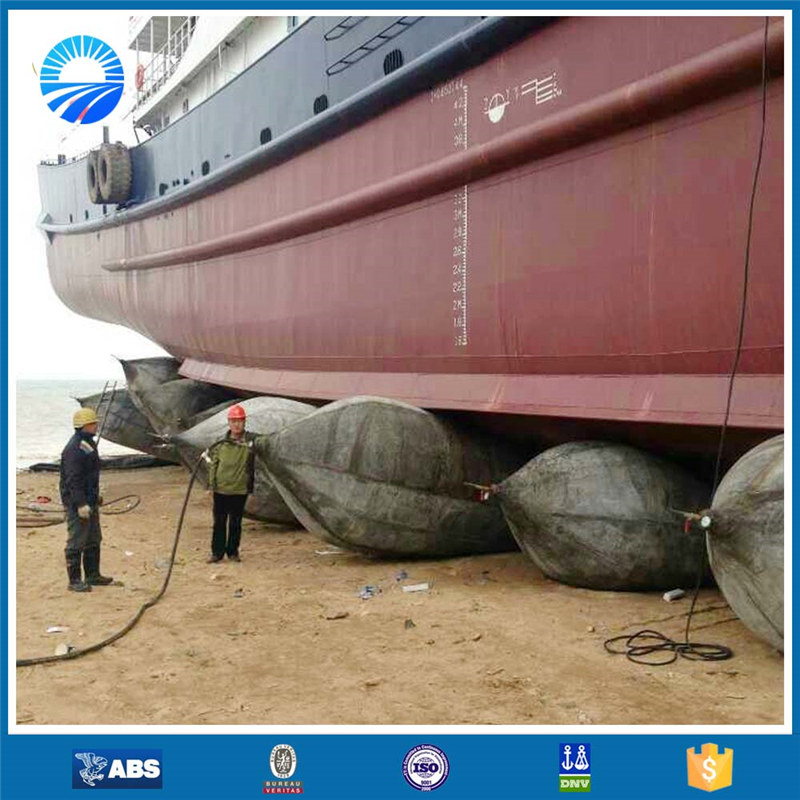 rubber ship launching airbag hot sale in Vietnam