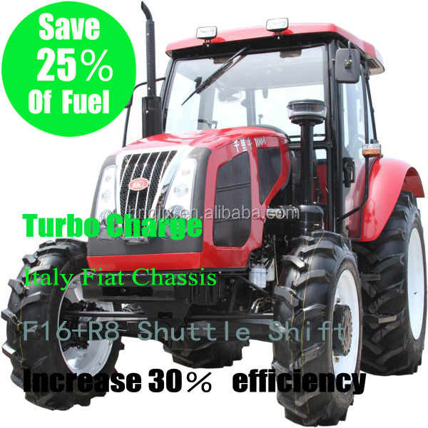 150L volume with independent hydraulic fuel system big power tractor