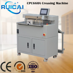Professional Manufacturer Automatic Slitter Cutter Creaser Machine