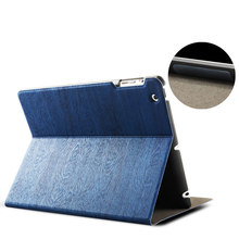 Newest high quality Product tree texture leather case for iPad mini4 with waterproof