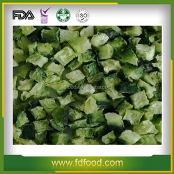 100% natural and not additive Dehydration Freeze Dried Cucumber