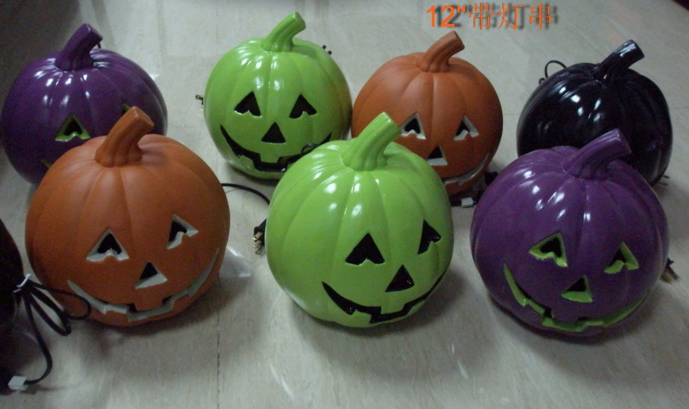 OEM Halloween pumpkin for outdoor decoration string light for halloween Pumpkin