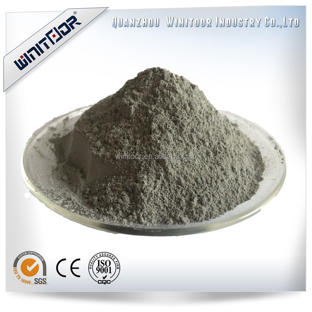 Hot Sale India Market Winitoor 94%min Undensified Silica Fume for refractory industry