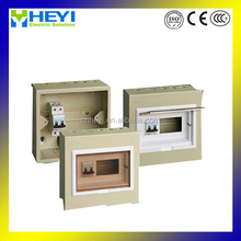 Hot sales MDB-A Series 1 Phase flush IP40 8 ways type of electrical distribution box