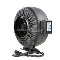 4'' inch exhaust fan with PU leather cover for ventilation